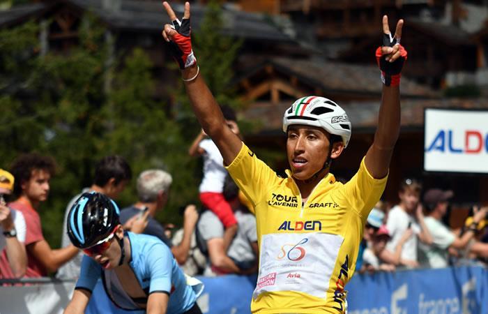 Egan Bernal imparable en el Tour de L'Avenir