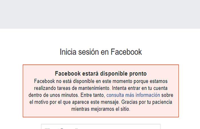 Facebook e Instagram se caen y dejan en vilo a sus usuarios