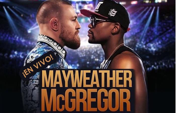 Floyd Mayweather vs. Conor McGregor: Hora y Transmisión EN VIVO