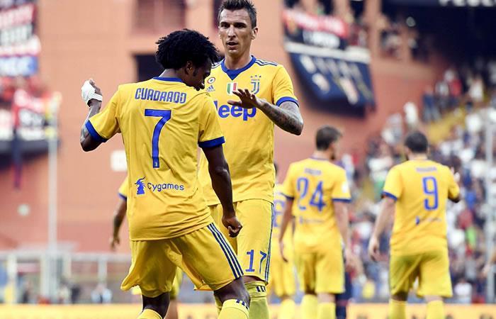 Juan Guillermo Cuadrado y su golazo con la Juventus
