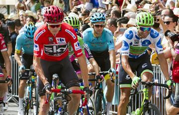 Vuelta a España: Chris Froome da un golpe de autoridad