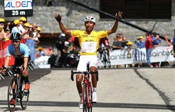 Egan Bernal es campeón del Tour de L'Avenir