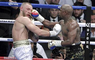 Mayweather vs. McGregor: Reviva el momento del último nocaut