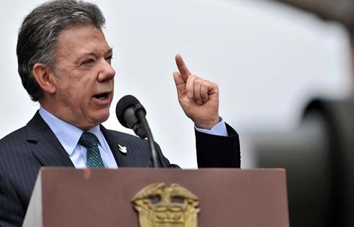 Odebrecht: Presidente Santos pide a CNE archivar investigación en su contra