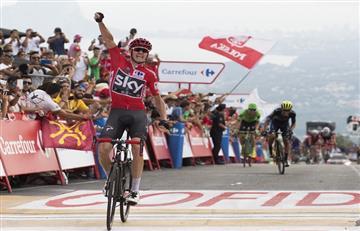 Vuelta a España: Christopher Froome es el ganador de la etapa 9