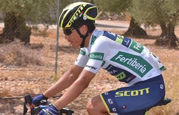 Vuelta a España: Esteban Chaves el mejor colombiano en la etapa 9