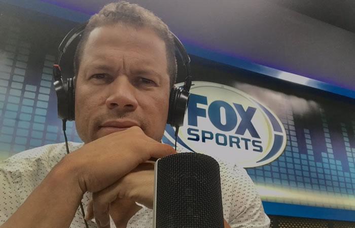Fox Sports: Óscar Córdoba cayó en la broma del gemido de WhatsApp