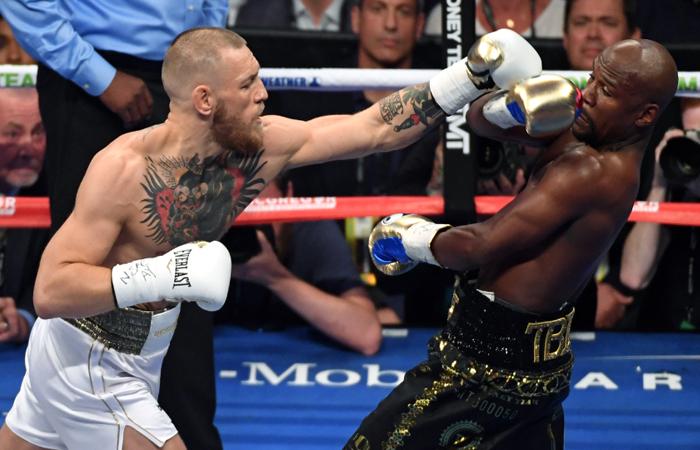 Mayweather vs McGregor: Combate provoca sangrienta pelea en Australia