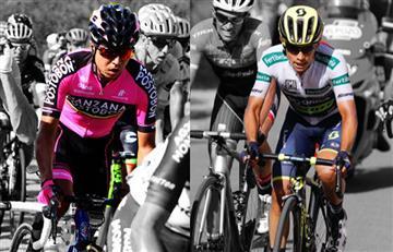 Aldemar Reyes y Esteban Chaves los mejores colombianos de la etapa 10