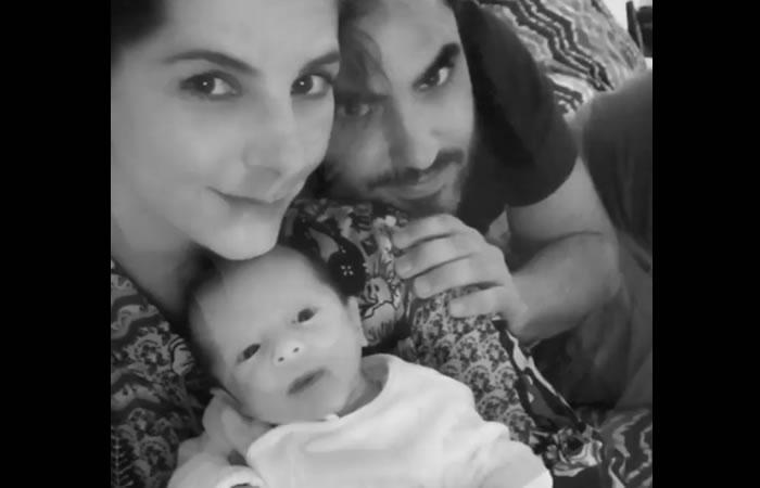 Carolina Cruz: Su hijo hipnotizado con las modelos de Victoria's Secret