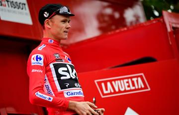 Chris Froome no quiere poner en riesgo su liderato de la Vuelta a España