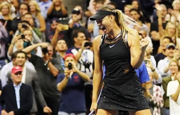 Sharapova por la puerta grande en el US Open tras 15 meses de ausencia
