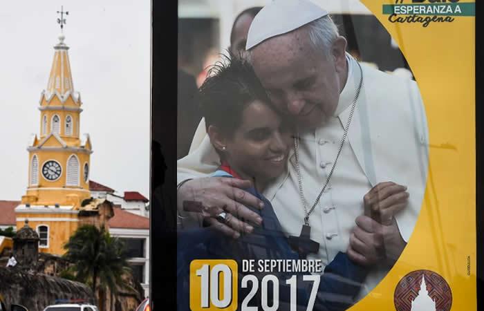 Cartagena recibirá al papa Francisco con unos 12 mil árboles