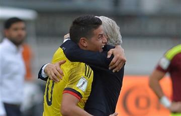 ¿Pékerman anunció que James sí está apto para jugar contra Venezuela?