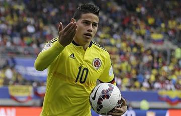 Selección Colombia tomaría una decisión con James que no le gustaría al Bayern