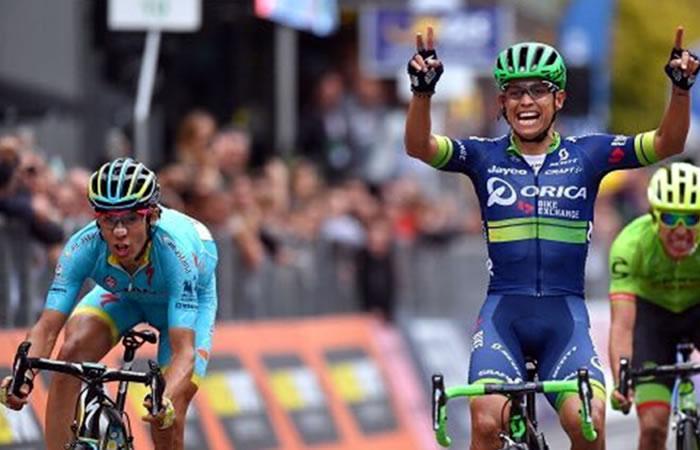 Vuelta a España: Esteban Chaves y Miguel López en el top 10 de la general