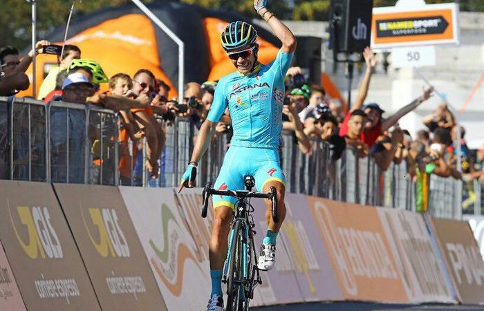Vuelta a España: Miguel Ángel López se lució en la etapa 11