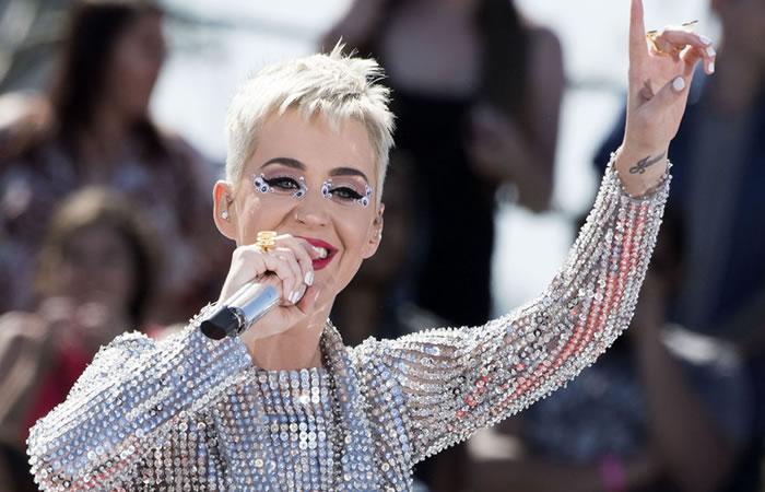 Katy Perry es demandada por un accidente laboral. Foto: AFP