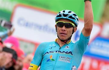 Miguel Ángel López gana premio a mejor joven tras disputar la etapa 12
