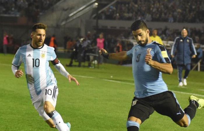 Argentina lo intentó pero tuvo que conformarse con un empate ante Uruguay