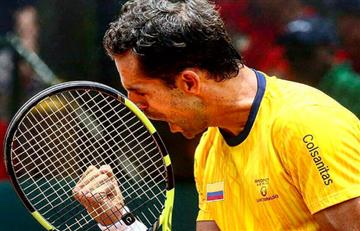 Santiago Giraldo clasifica por primera vez a la segunda ronda del US Open