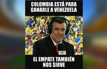 Selección Colombia y los memes del partido ante Venezuela