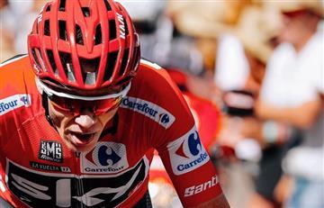 Vuelta a España: Chris Froome sufrió caída y Marczynski se llevó la etapa