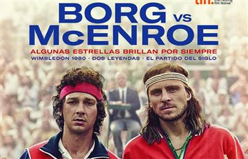 Borg vs. McEnroe: un épico partido de tenis al cine