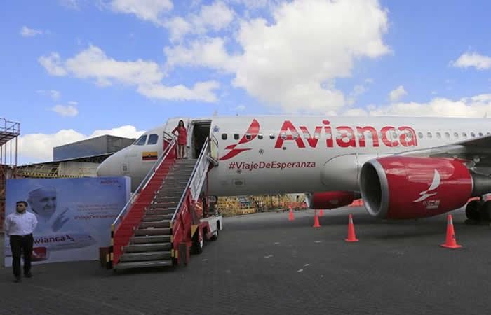 Video: El avión que transportará al papa Francisco en Colombia