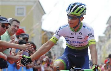 Vuelta a España: Esteban Chaves y 'Superman' López se lucen en la general