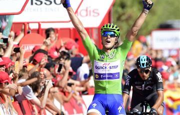 Vuelta a España: Matteo Trentin gana la etapa, Chaves no baja la guardia