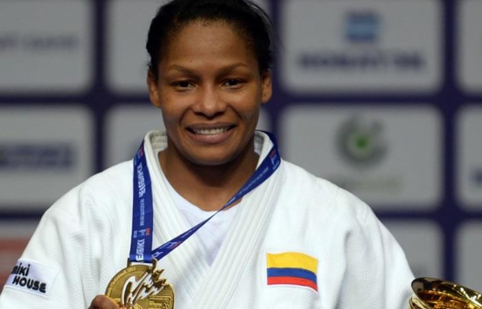 Yuri Alvear enorgullece a Colombia con una medalla  en Budapest