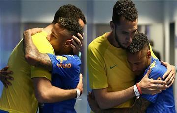 El emotivo encuentro entre Neymar y Helio Neto, sobreviviente de Chapecoense