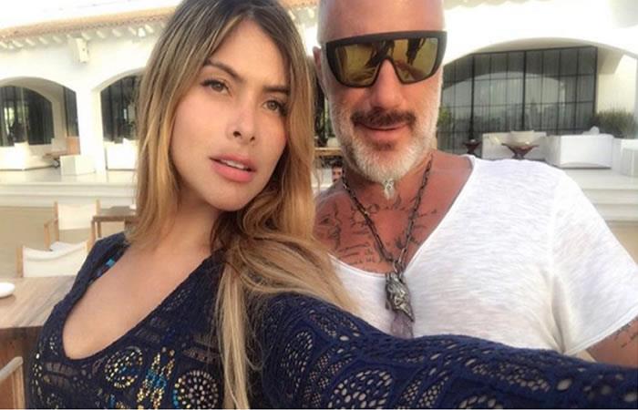 Gianluca Vacchi y la nueva colombiana que lo acompaña