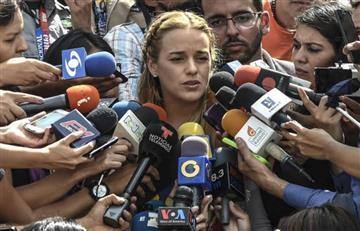 """Lilian Tintori: """"Me acaban de prohibir la salida del país"""""""