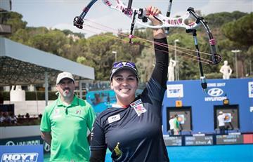 Sara López ganó oro para Colombia en la Copa Mundo de tiro con arco