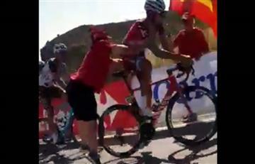 Vuelta a España: La razón por la que Maxim Belkov fue empujado