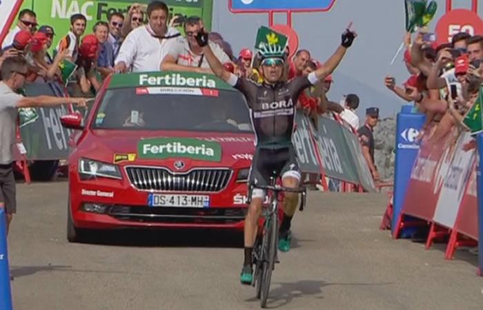 Vuelta a España: Rafal Majka ganador de la etapa 14