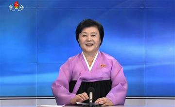 Corea del Norte y la presentadora que anunció su sexto ensayo nuclear