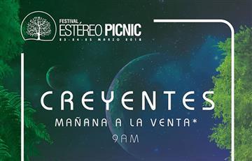 Festival Estéreo Picnic: Comienza la venta de 'Creyentes'