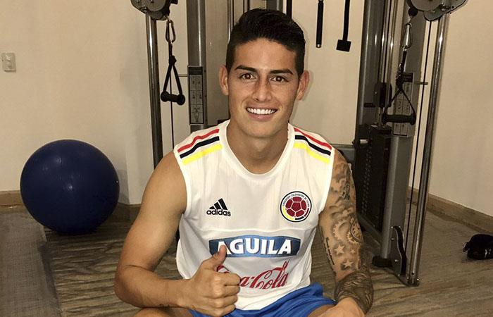 James Rodríguez envía mensaje a toda Colombia e ilusiona al país