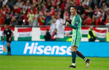 Cristiano Ronaldo, protagonista de la victoria de Portugal