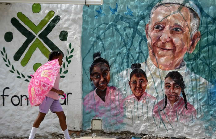 Francisco en Cartagena, un encuentro con la pobreza