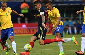 Colombia quiere vencer a Brasil con James para acercarse al Mundial de Rusia