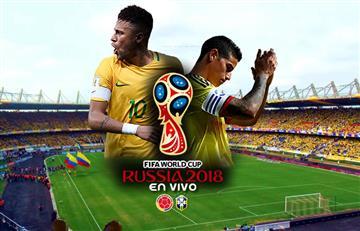 Colombia vs. Brasil: Transmisión EN VIVO