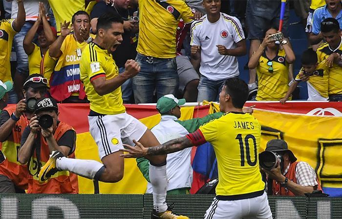 Falcao García: 'Estoy muy agradecido con Dios por el gol'