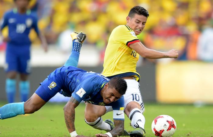James Rodríguez: 'Fue un partido bueno con grandes jugadores de lado y lado'