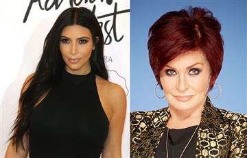 'Kim Kardashian no es una feminista es una pu%&' dice Sharon Osbourne