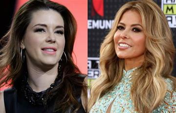 La rivalidad entre Alicia Machado y Gloria Trevi enfrenta a los seguidores