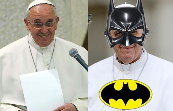 Papa Francisco: Los mejores memes del pontífice en el 'Batimóvil'